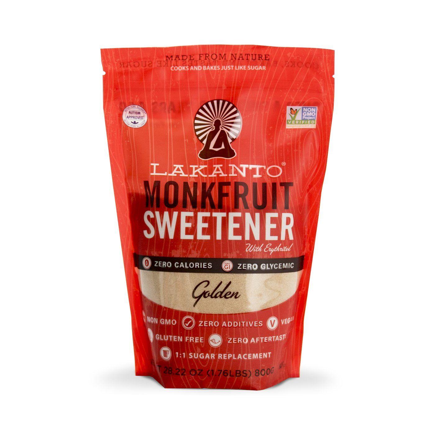 Golden monkfruit 11 sugar substitute low carb meals