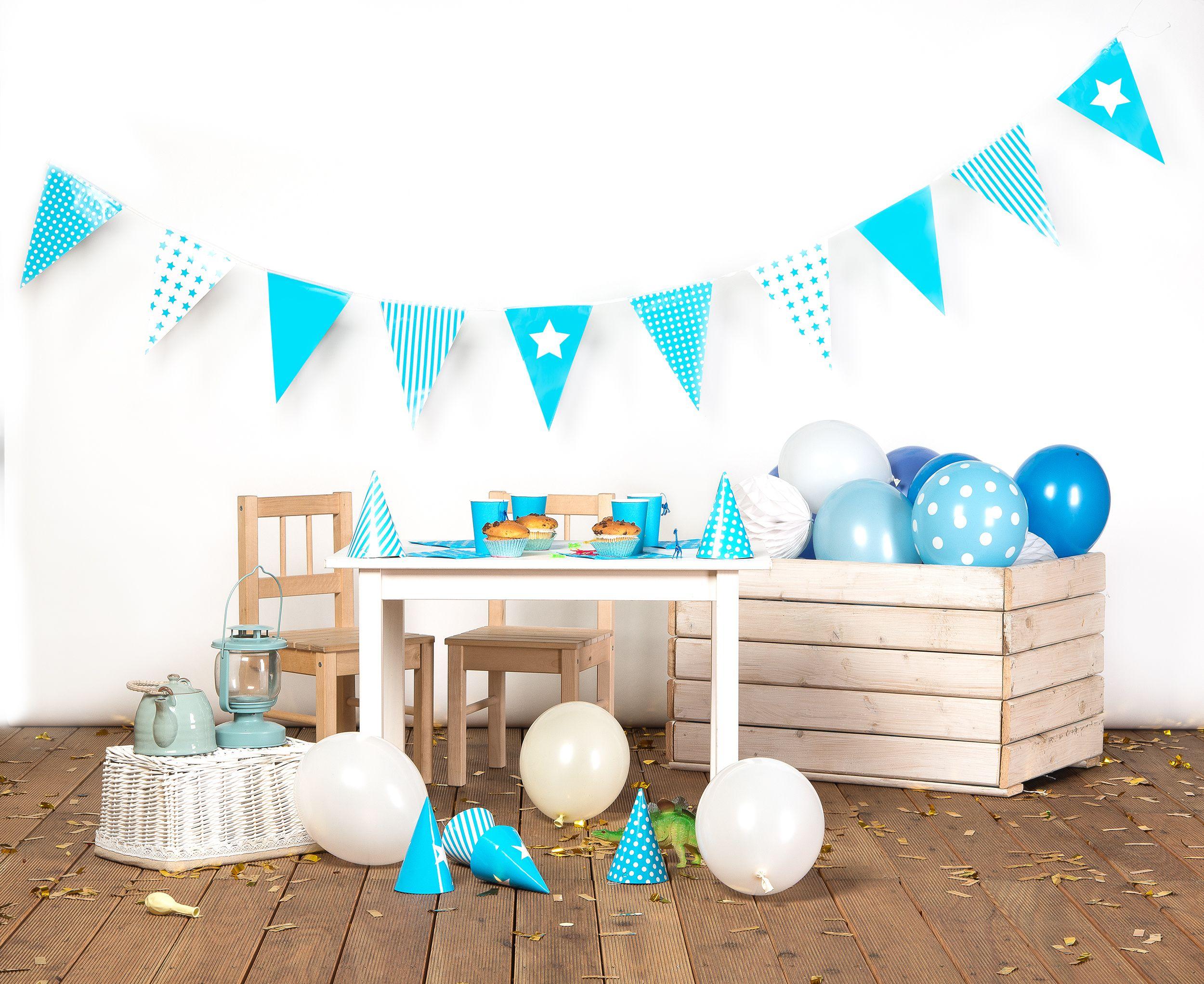 Dekoracje Urodzinowe Girlandy Pompony Kule Urodziny Dla Dzieci