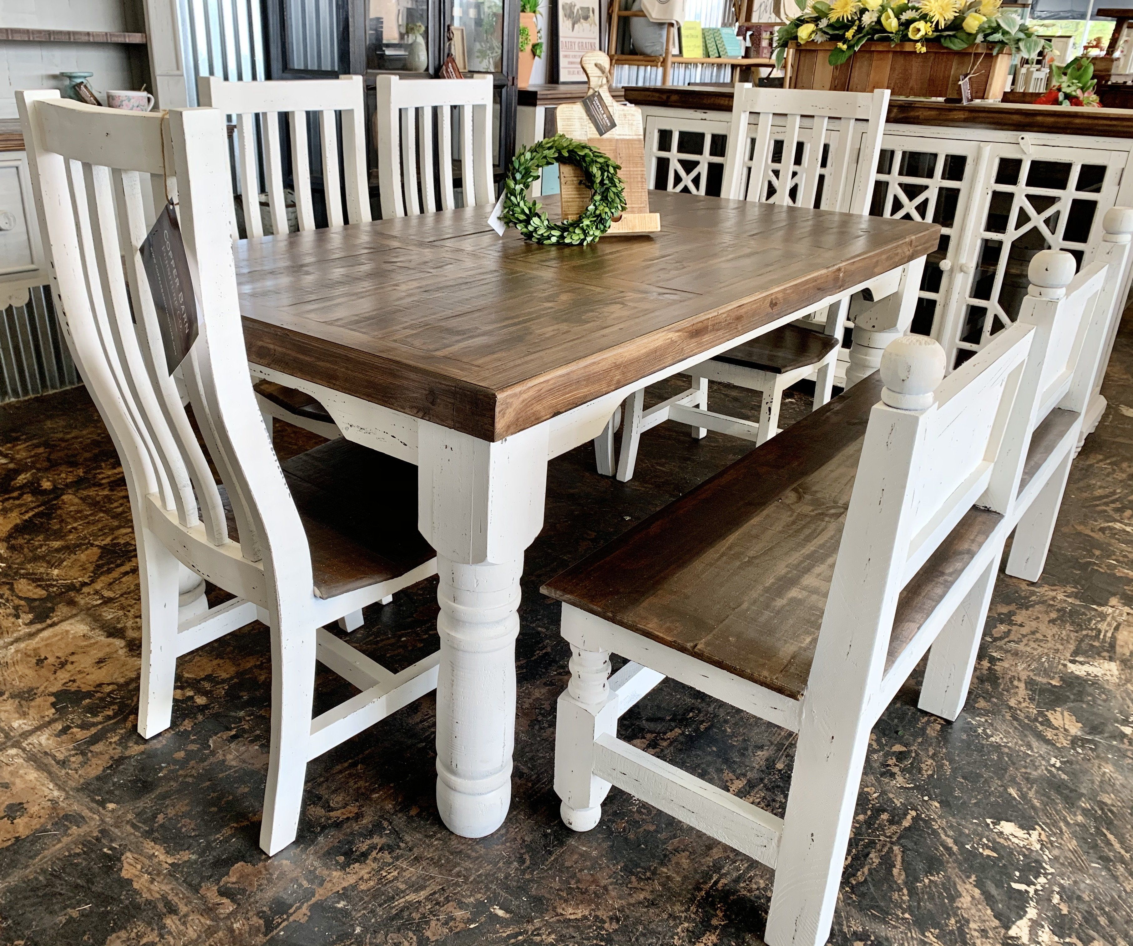 Faye 6 Piece Dining Table Set