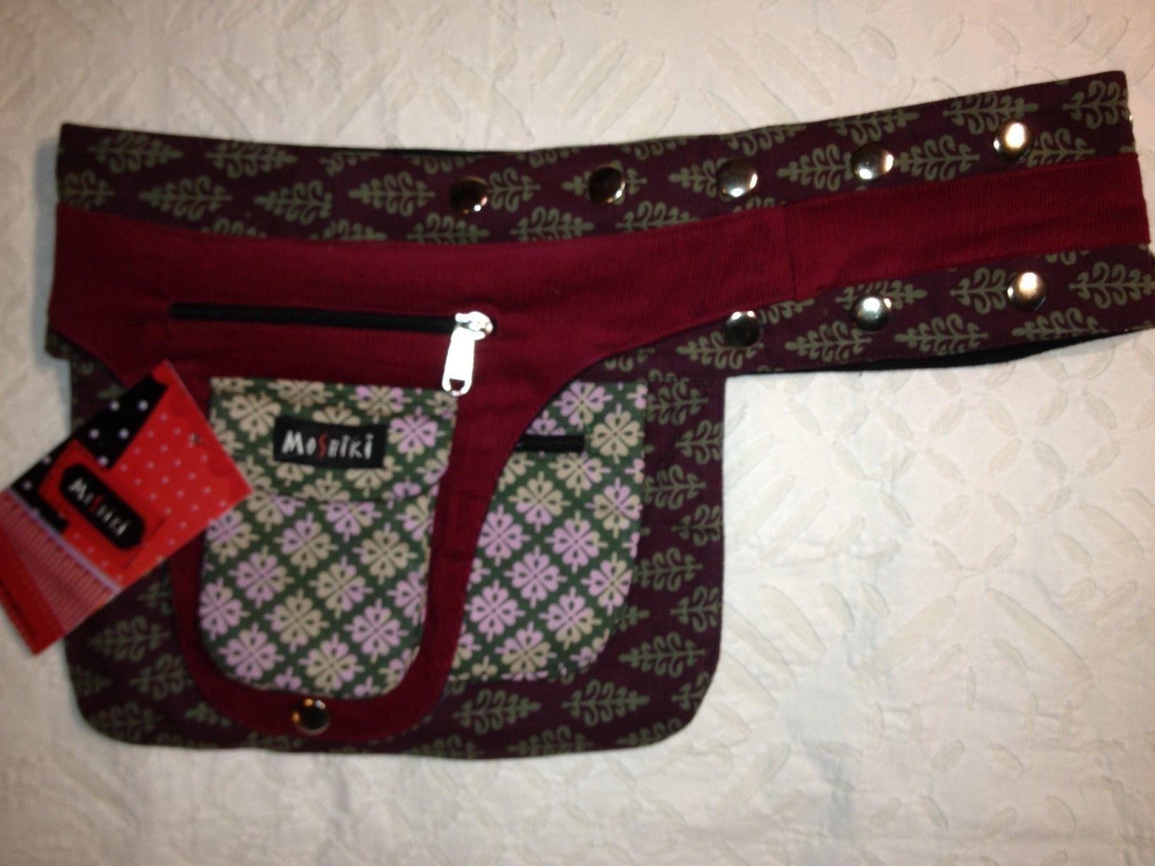 Moshiki Hüfttasche Bon Bon mit praktischen Unterteilungen für Handy ...