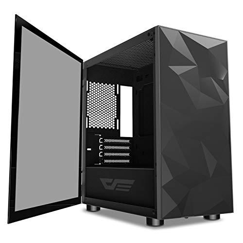Darkflash Micro Atx Mini Itx Tower Microatx Computer Case With Magnetic Design Wide Open Door Opening Swing Type Tofsh In 2020 Computer Case Mini Itx Atx