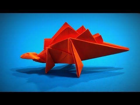 Photo of Origami Dinosaur | How to Make a Paper Dinosaur Stegosaurus DIY | Easy Origami ART | Paper Crafts