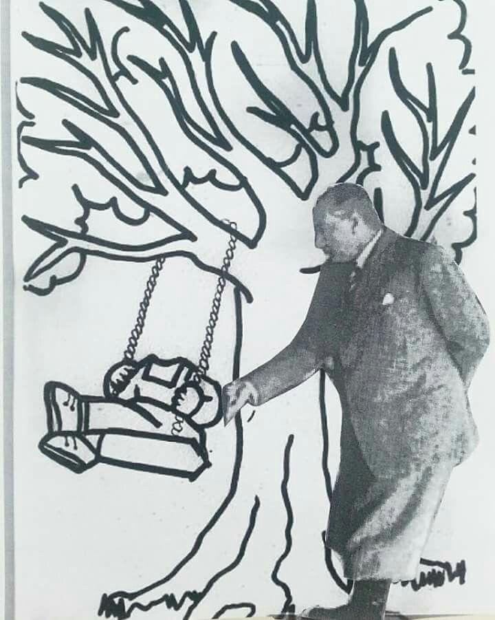 Ataturk Salincak Boyama Sayfalari Okul