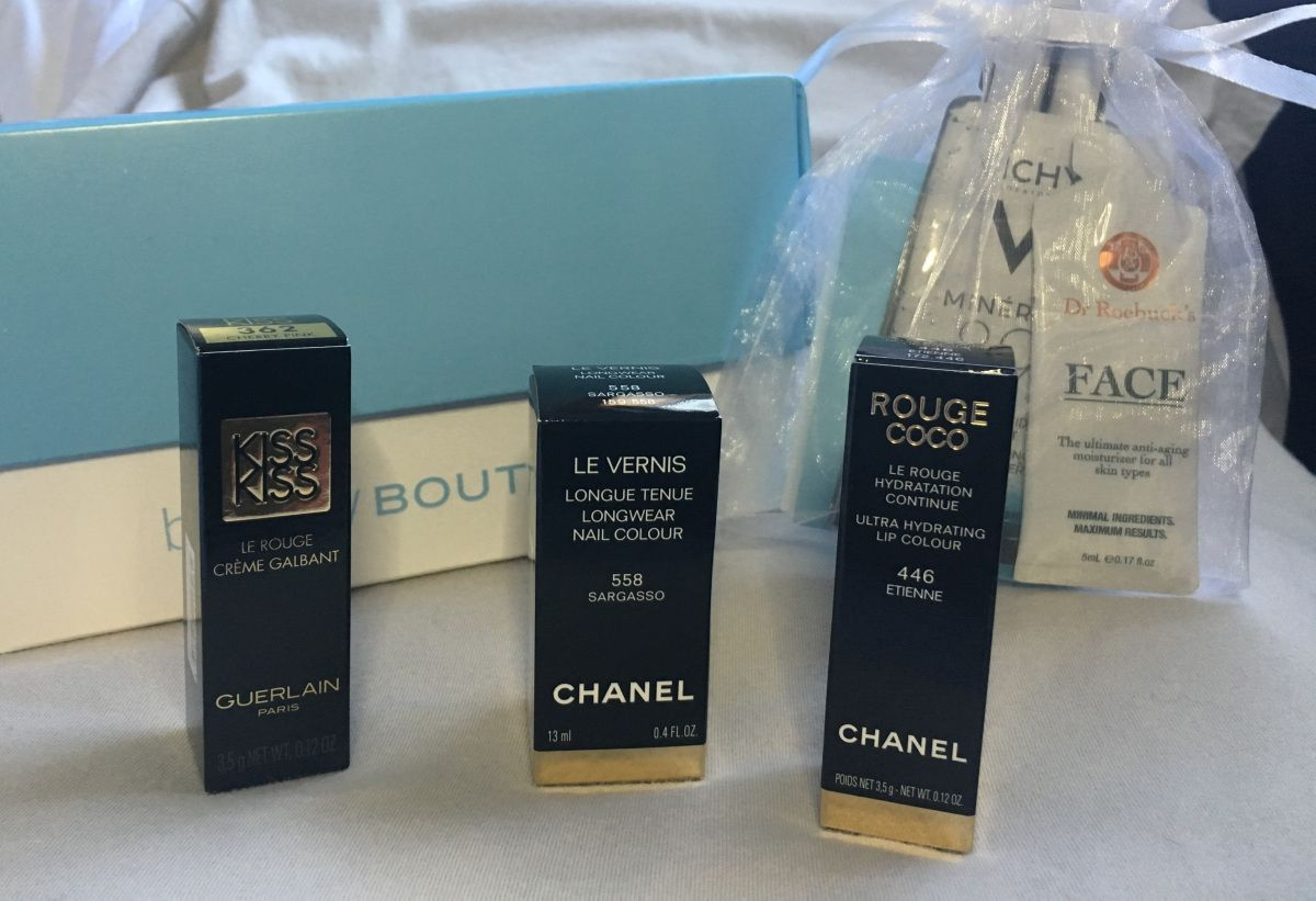 What I Got at the beautyBOUTIQUE Spend Your Points Event