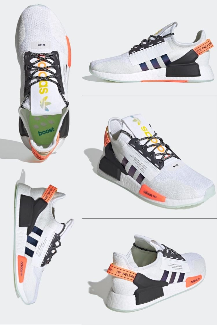 Adidas Nmd R1 V2 Nmdr1 In 2020 Addidas Shoes Kids Running