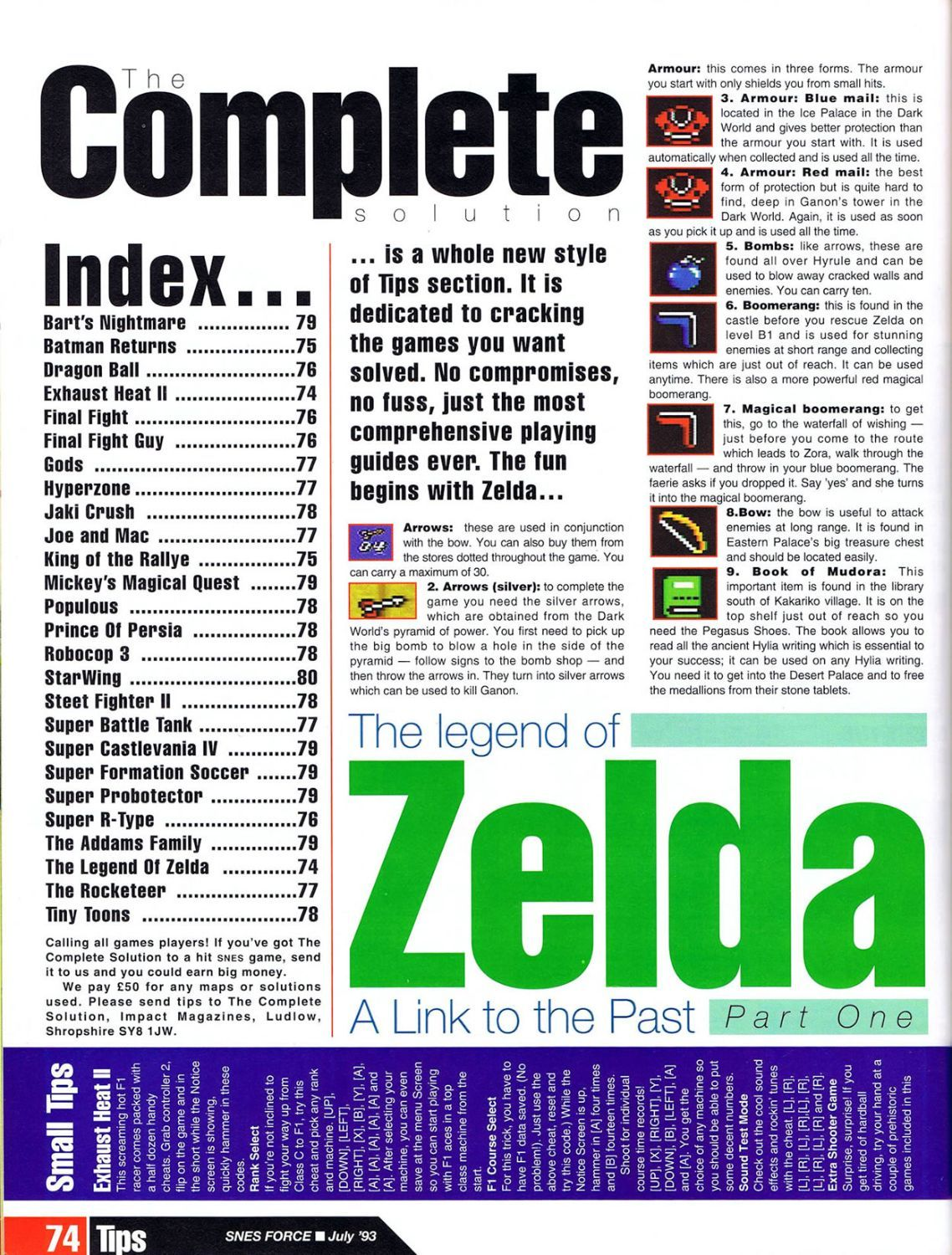 snes force issue 1 july 1993 tloz a link to the past guide part 1 rh pinterest com Smiler Scan game guide pdf scans