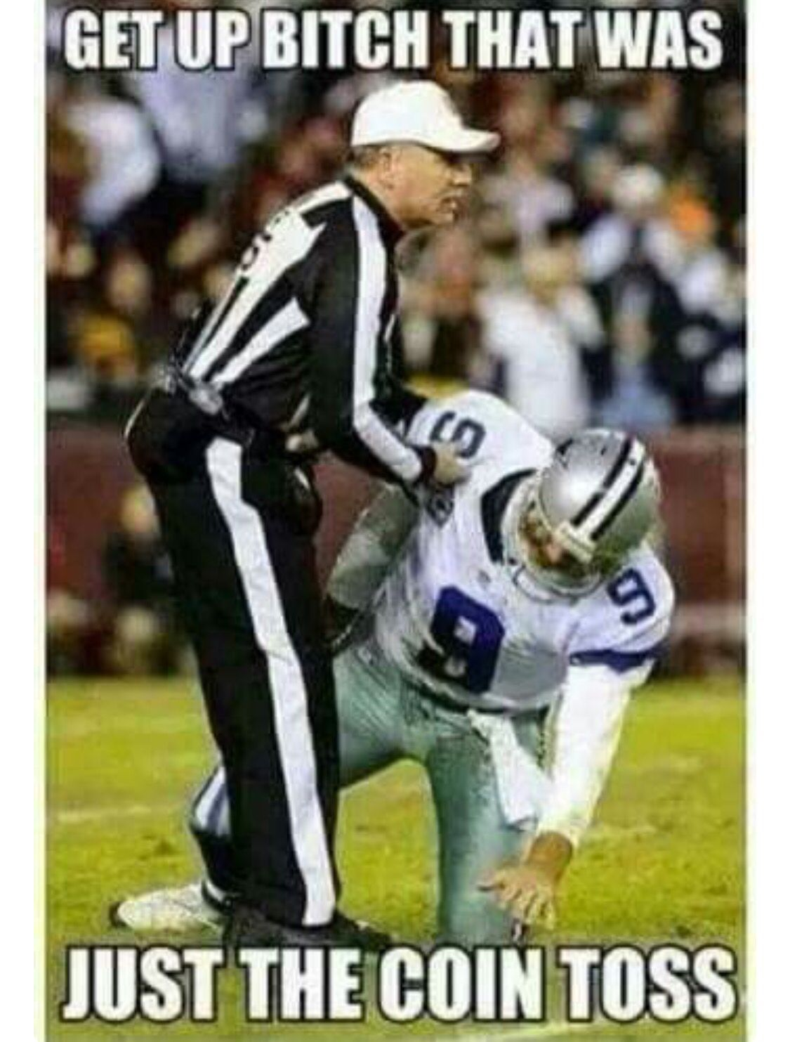 How bout those Cowboys...!!! Funny football memes, Nfl