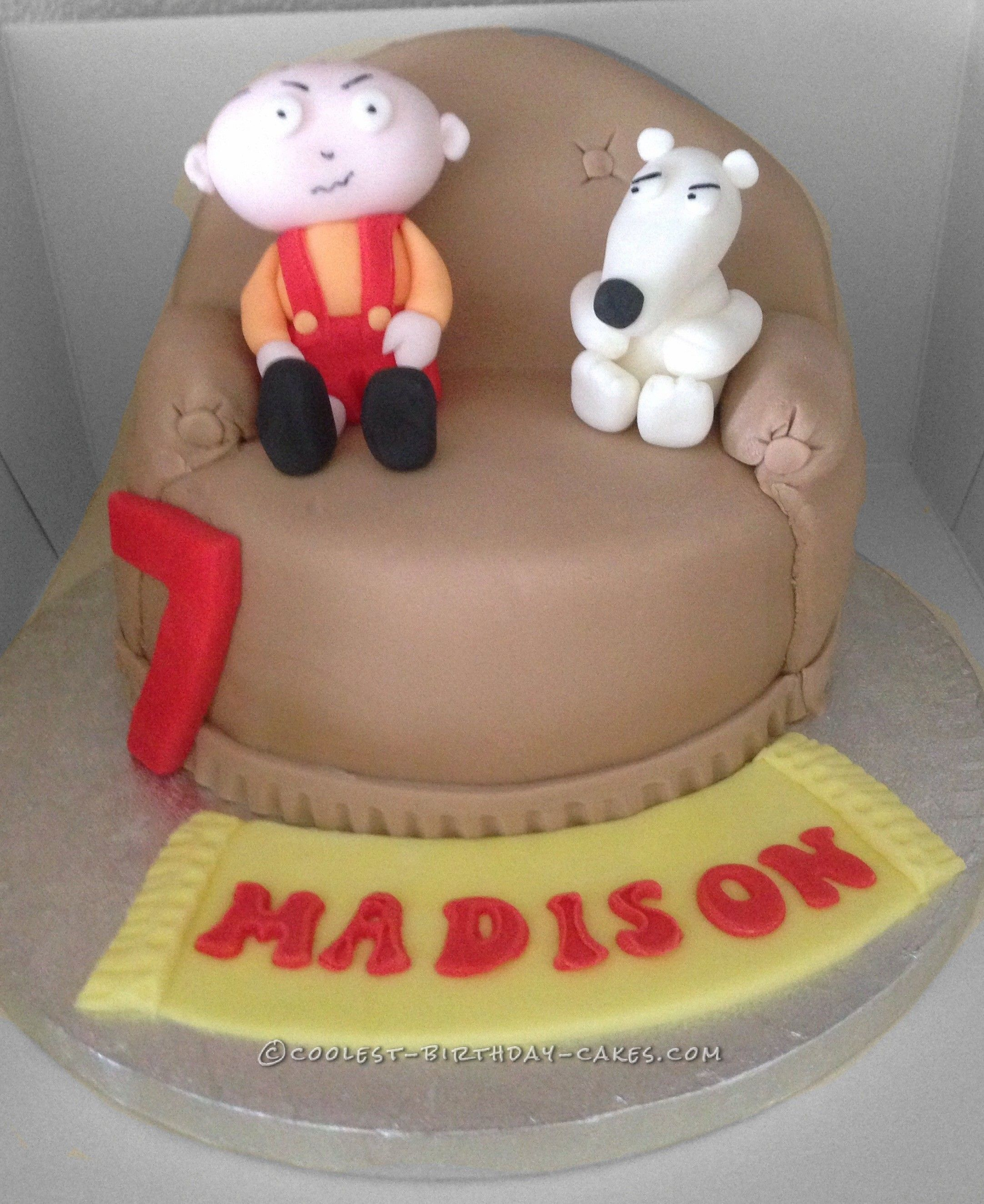 Coolest Family Guy Cake Guy Cakes Birthday Cakes And Cake - Birthday cake for a guy