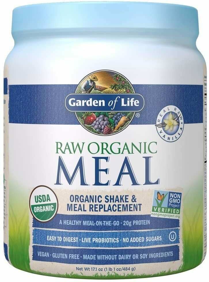 Vanilla Garden Life Meal Replacement Powder Organic