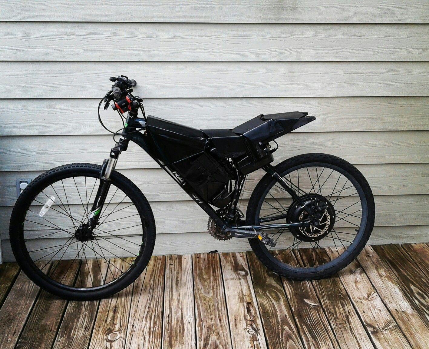 7ba0919ee03 Diy Electric Bike. 20ah sla battery, 36v 500w controller. Throttle drive  only.