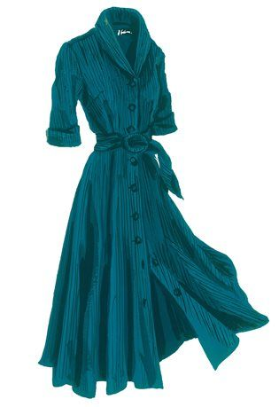 1940's Cord Dress available at JPeterman.com.