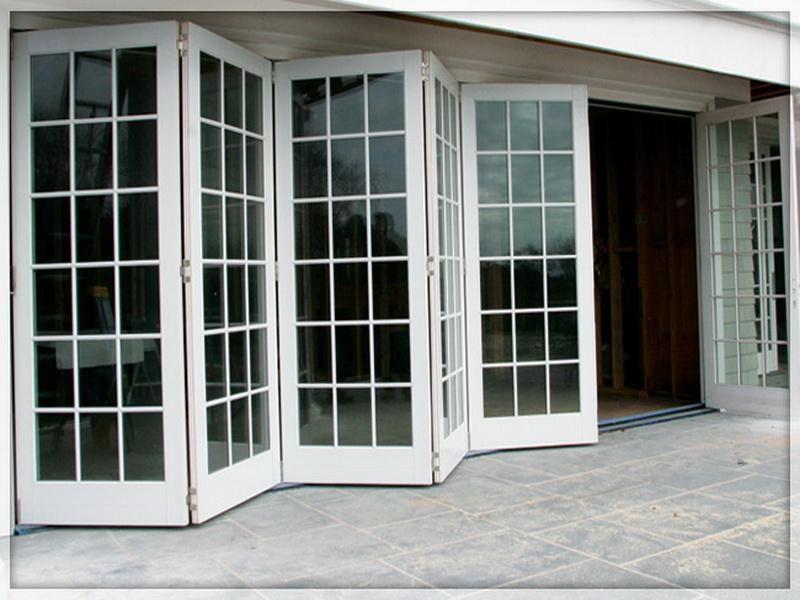 Folding Patio Glass Bifold Doors Exterior Outdoors Pinterest