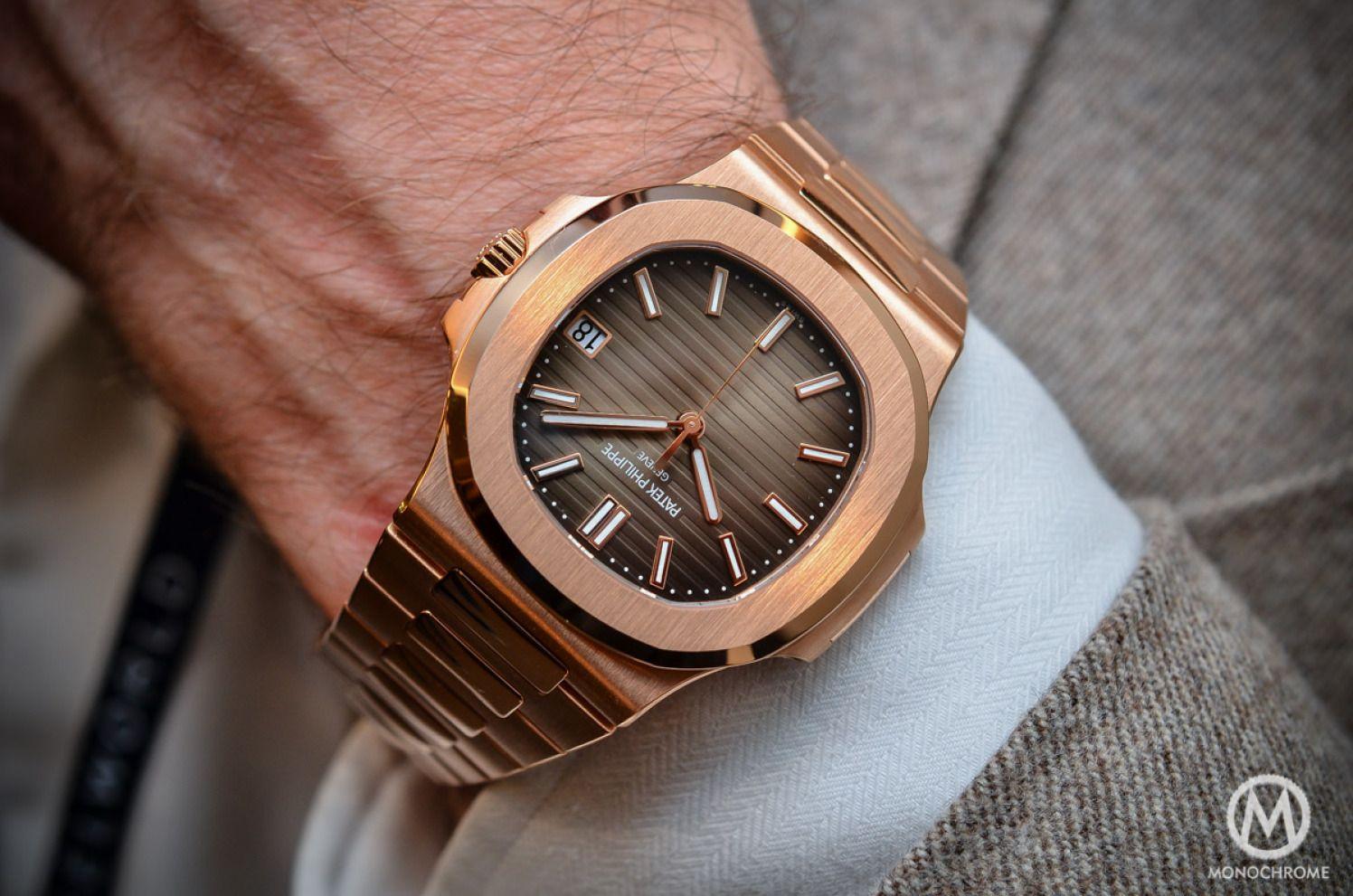 695e49f8fcc Patek Philippe Nautilus 5711 1R-001 - Rose Gold Chocolate Dial ...