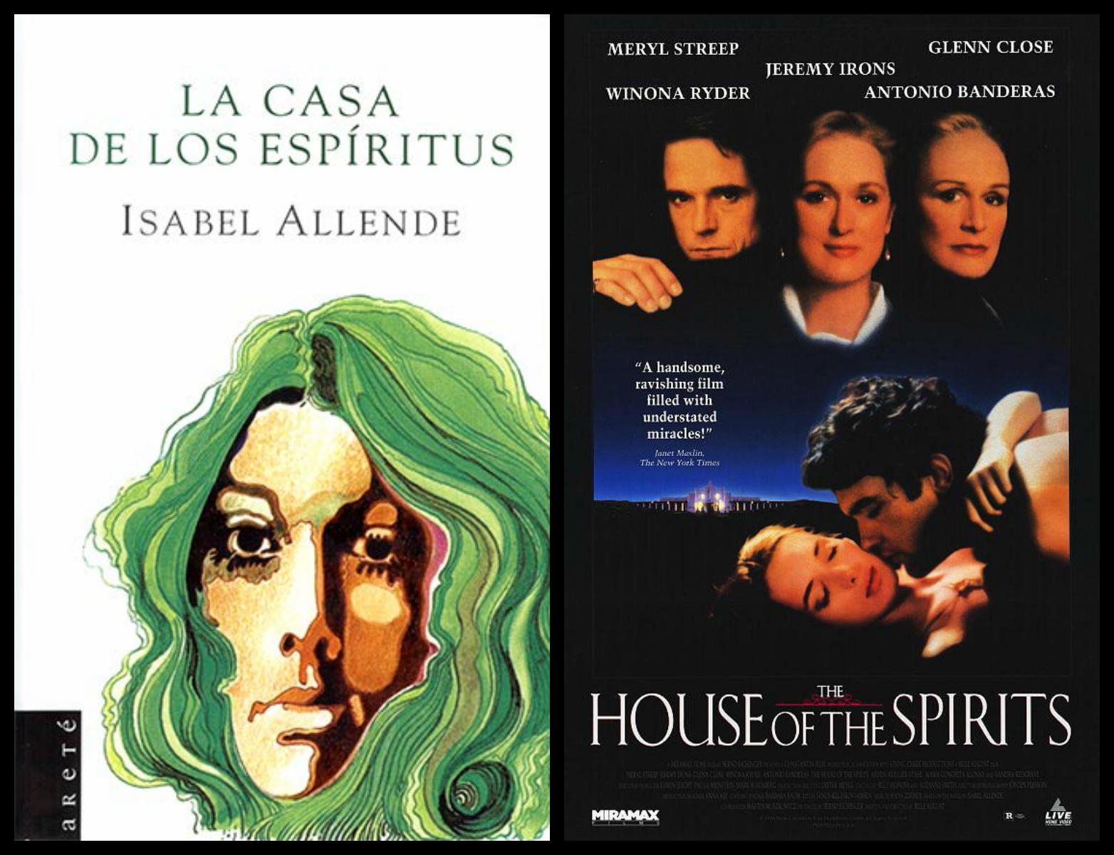 La Casa De Los Espíritus Winona Ryder Meryl Streep Glenn Close