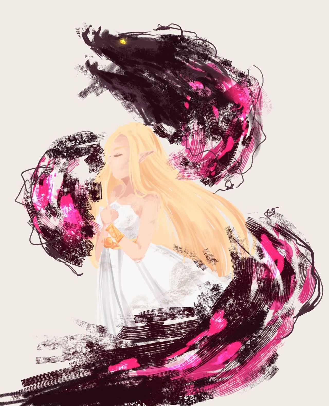 Pin By Ashley On Vg Drawing Legend Of Zelda Breath Legend
