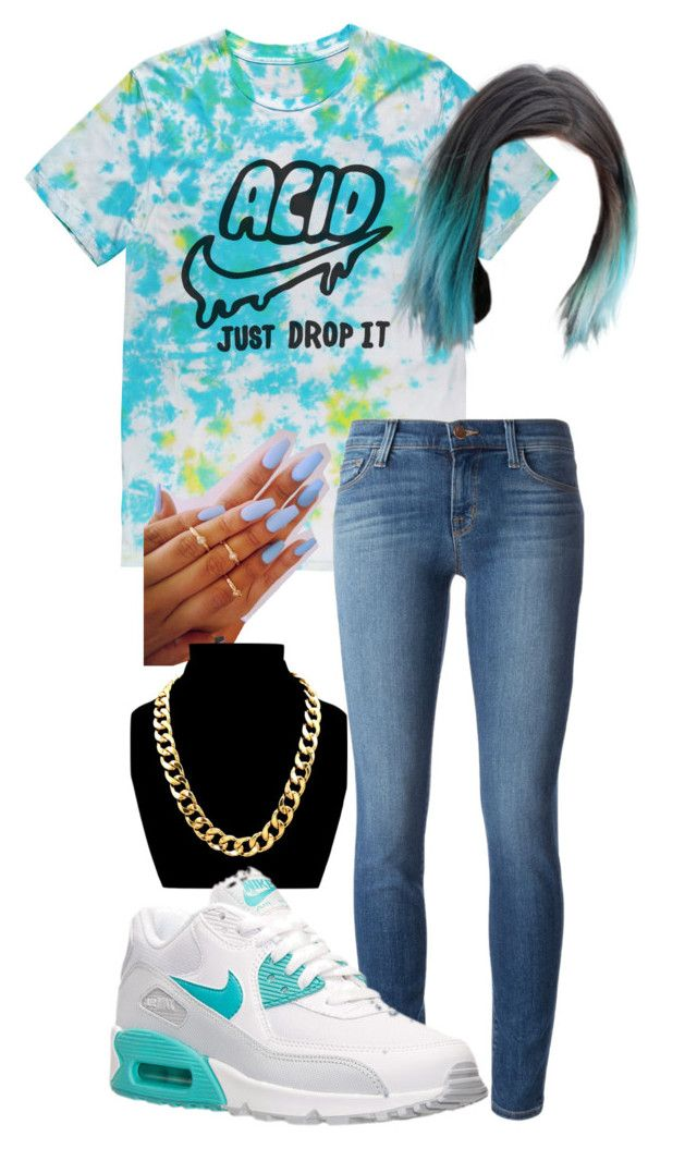 """Nike Acid"" by taylor-marie-9 ❤ liked on Polyvore featuring J Brand and NIKE"