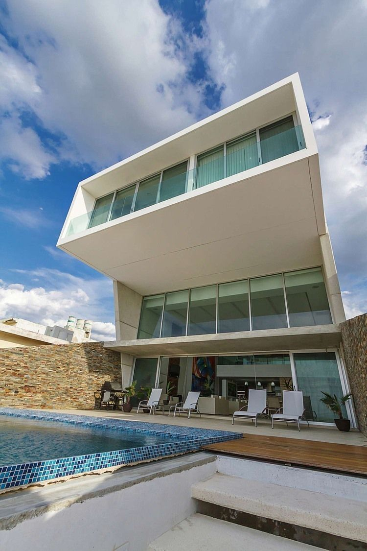 House design simple home modern architectures pinterest