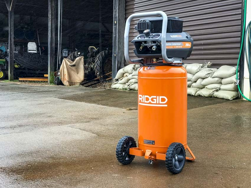 Ridgid 15Gallon Air Compressor Review OF150200A Air