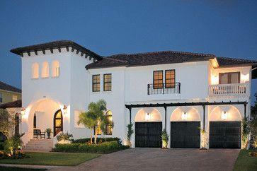 Bayshore Estates Mediterranean Homes Exterior Spanish Style Homes Luxury Homes Exterior