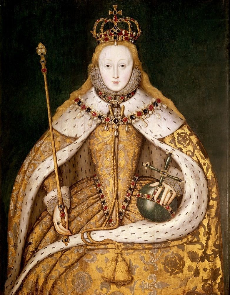 Queen Elizabeth I in Coronation Robes, c.15591600 in 2020