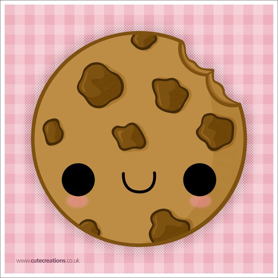 Chocolate chip cookie | Cute creations | Pinterest