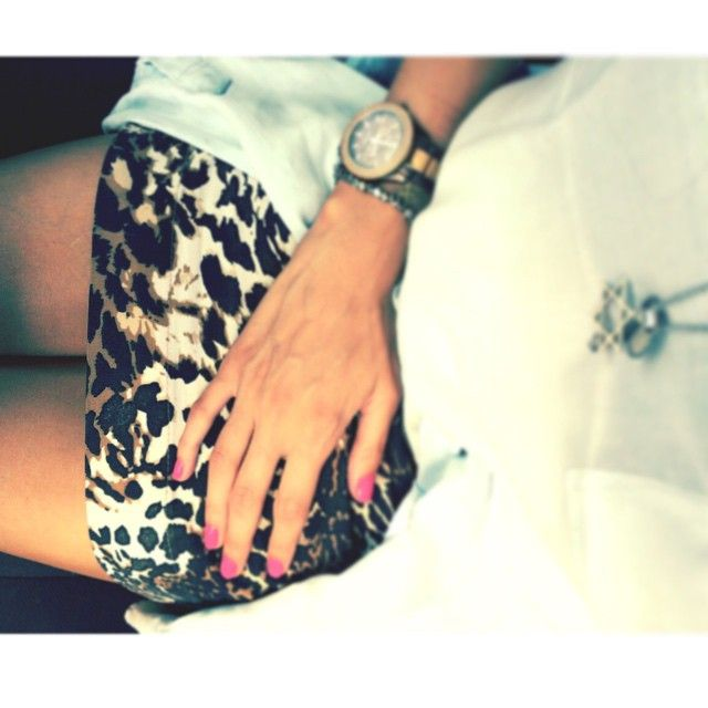 | Print de onça e pink! | #esencoinspira #inspiração #look #fashion #outfit #ootd #style #pink #print
