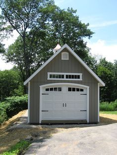 Build One And A Half Car Detached Garage Google Search Garage Door Styles Backyard Garage Garage Style