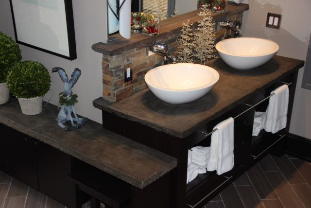 T and L basins in a #luxury private residence