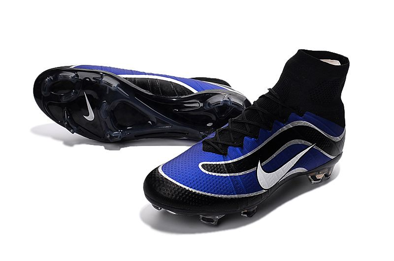 1946f4928d3 Nike Mercurial Superfly IV FG Heritage iD Blue Black White | Nike ...