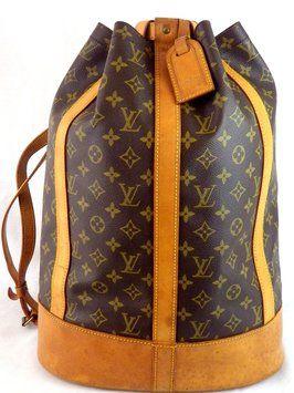 Louis Vuitton Randonnee Gm Backpack $571