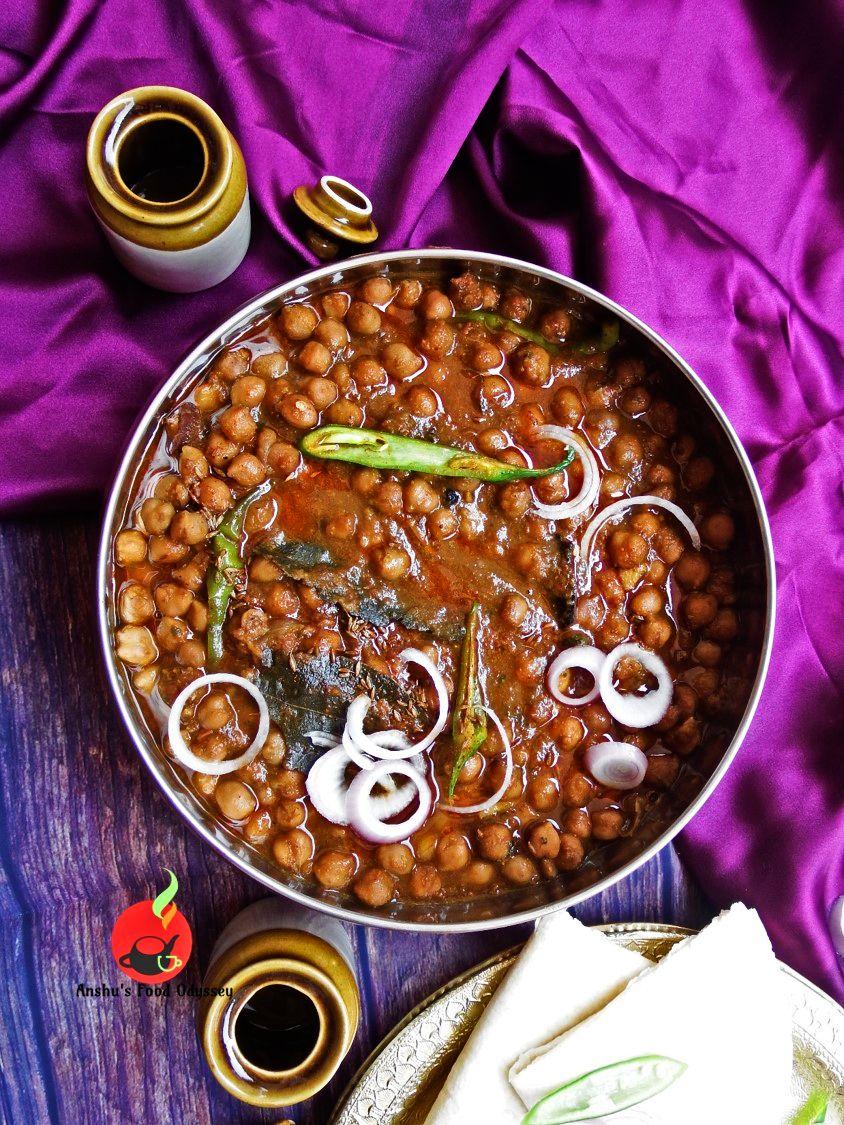 Dhaba Style Amritsari Chholey (With images) Indian food
