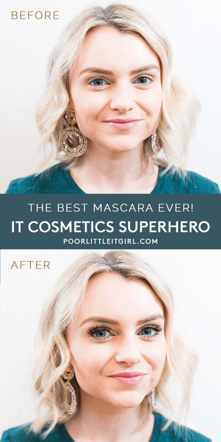 The Best Black Mascara IT Cosmetics SUPERHERO Poor