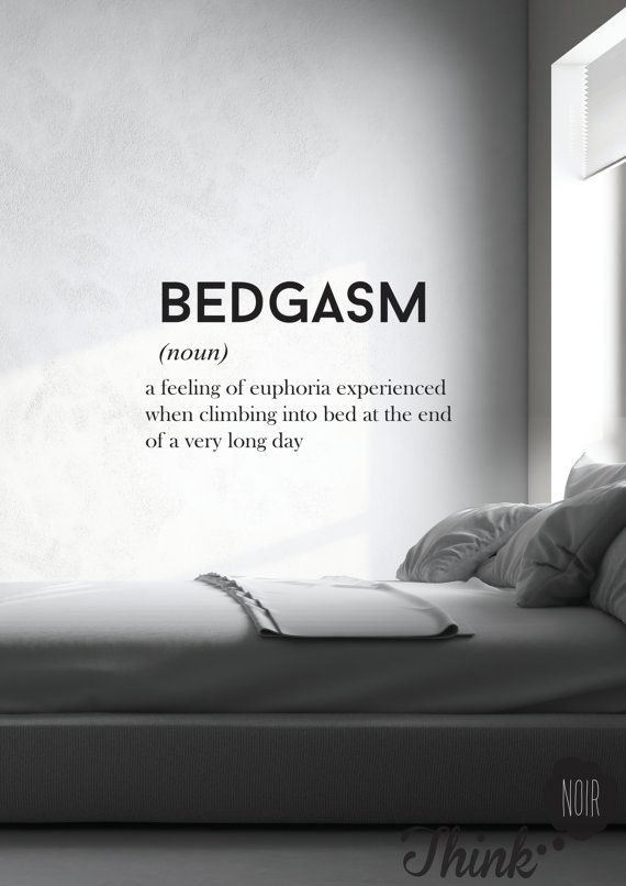 Bedgasm Large Wall Decal Black Wall Sticker By Thinknoir