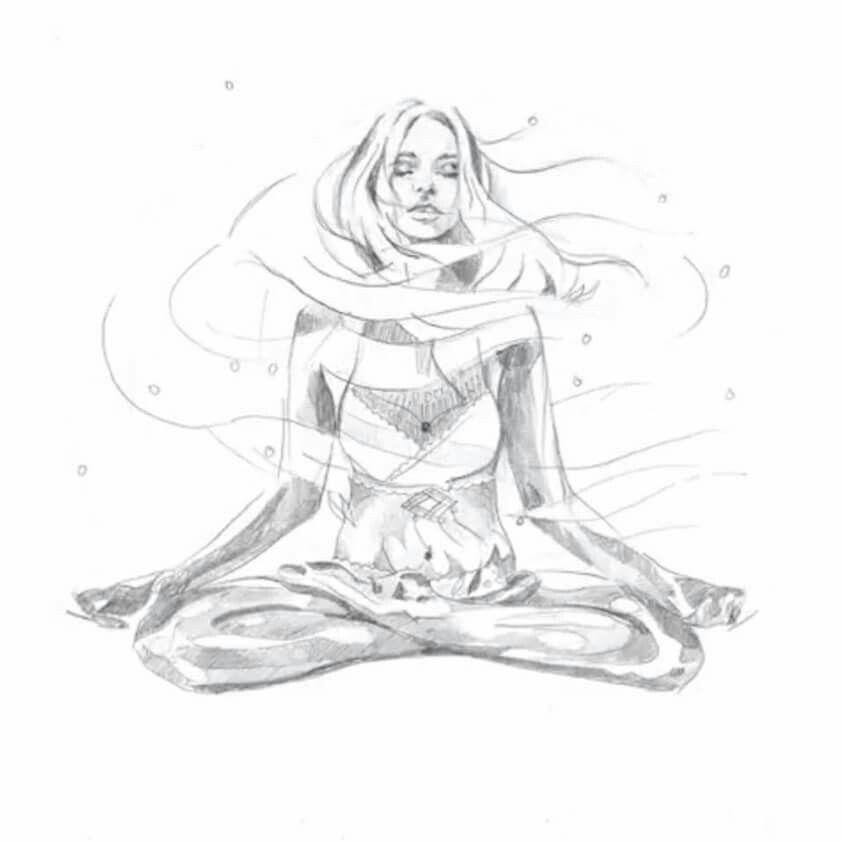 Pin By Loreen Hindi On Yoga Yoga Art Painting Yoga Drawing Yoga Art