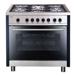 Matrix MR311SS Single Oven 90cm Gas Range Cooker - Stainless Steel