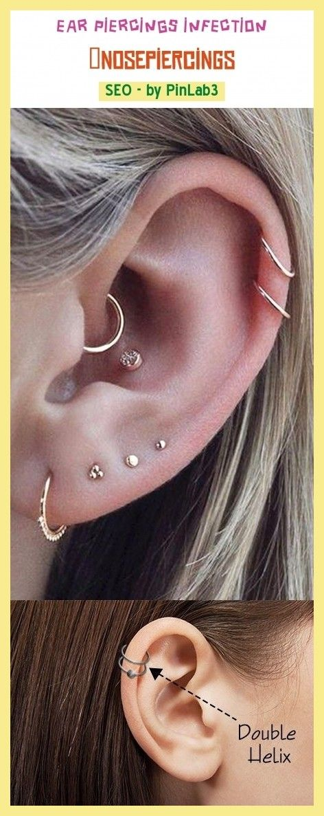 helix piercing infektion