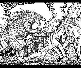 9 Pics Of Godzilla 2014 Coloring Pages Godzilla Coloring Pages