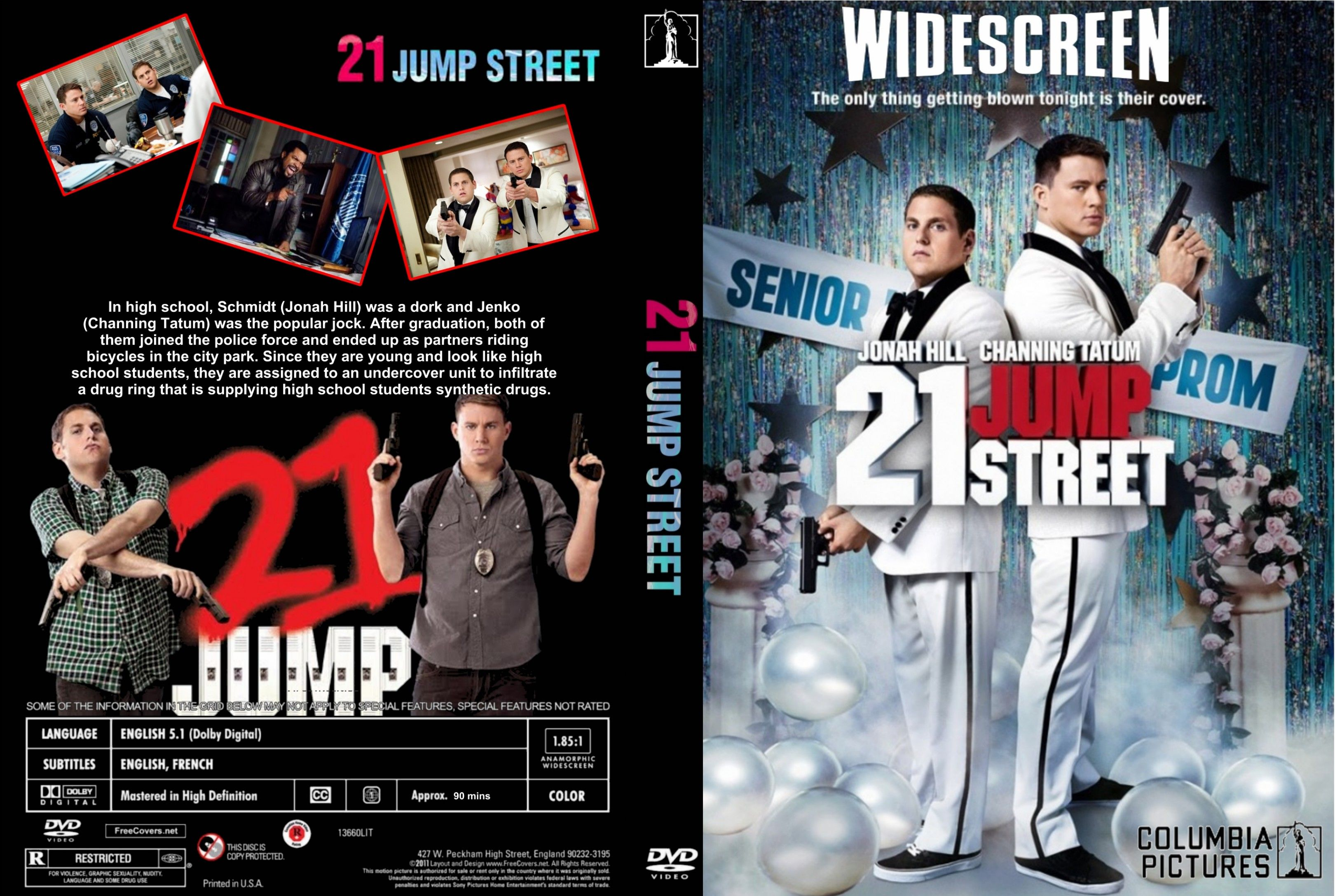 Covers Box Sk 21 Jump Street 2012 High Quality Dvd Blueray 21 Jump Street Dvd Covers Movie Covers