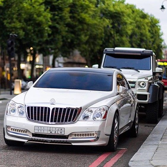 Maybach For Gatsby's Expensive Car Collection.