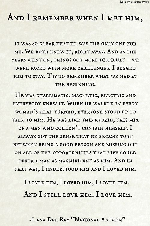 i still love him | Just Something About Quotes | Pinterest ...