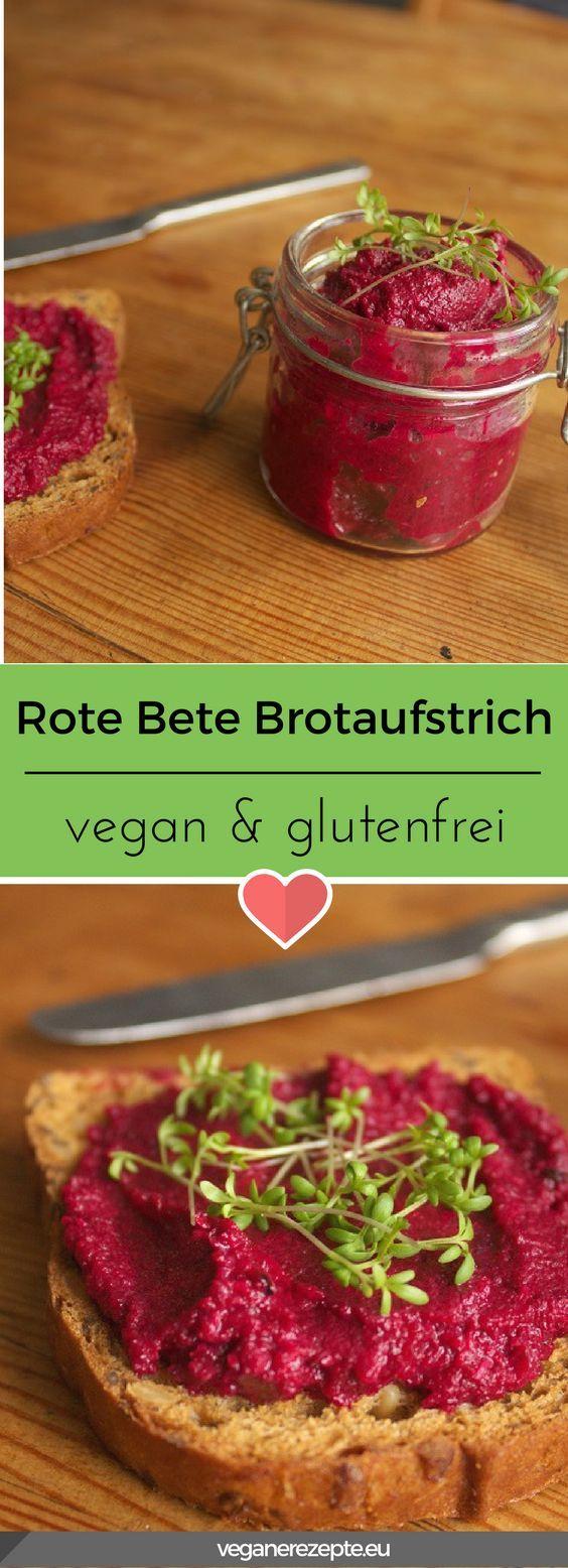 Rote Bete Meerrettich Aufstrich | Vegane Rezepte