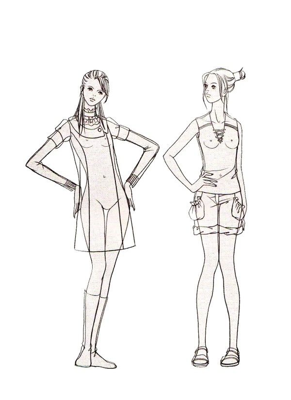 来自karenlee的图片分享 堆糖网 Fashion Model Drawing Fashion Figures Fashion Drawing