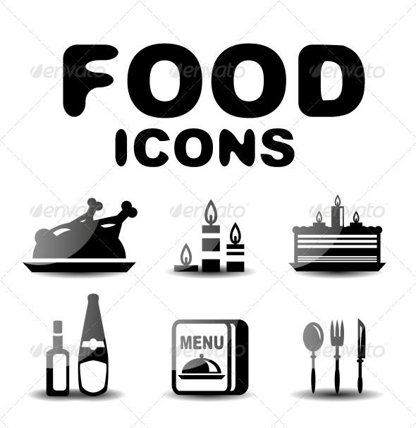 Food Black Glossy Icon Set  #GraphicRiver         Vector illustration. Fully editable vector. All design elements included in EPS file (use of Adobe Illustrator or other vector graphics editors is preferred)     Created: 10June13 GraphicsFilesIncluded: JPGImage #VectorEPS Layered: No MinimumAdobeCSVersion: CS Tags: apple #black #bottle #chef #chicken #collection #cook #dessert #fish #food #fork #glass #glossy #hat #hot #icon #icons #illustration #kitchen #knife #meat #menu #plate #set…
