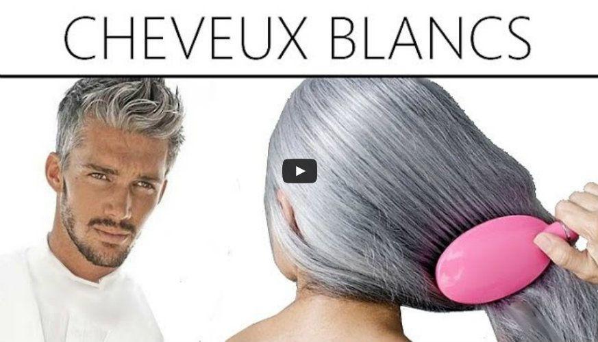 Camoufler les cheveux blancs naturellement