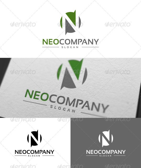 Neo Company Logo Template Transparent Png Neo Company Available Here Https Graphicriver Net Item Neo Company Logo Templates Letter Logo Company Logo