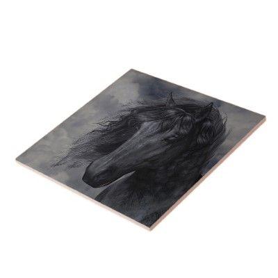 Black Beauty tile
