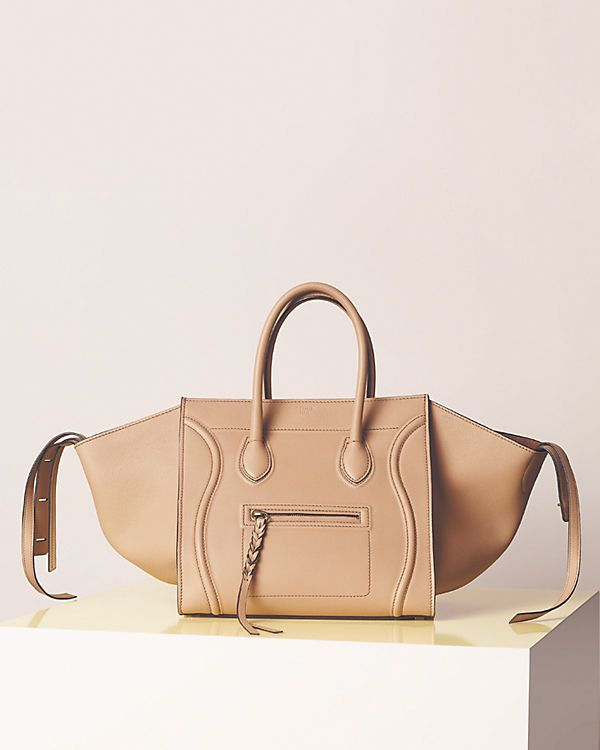 Celine LUGGAGE PHANTOM IN SUPPLE CALFSKIN FLESH
