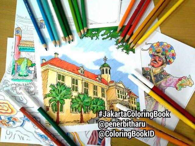Will Be Release Soon JakartaColoringBook From Penerbitharu ColoringBookID Kotatua Betawi