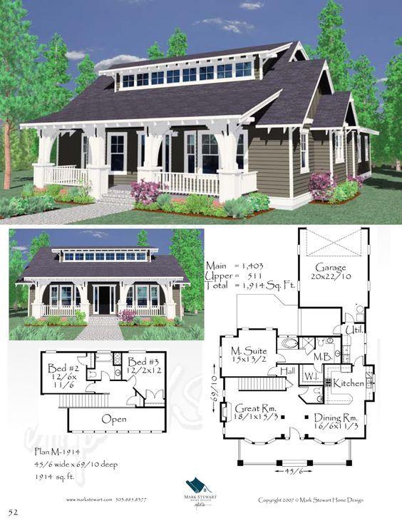 mark stewart home design m-1914. | house | pinterest | bungalow