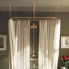 Myson Heavy Duty 60 X 28 Oval Shower Rod Shower Curtain Rods